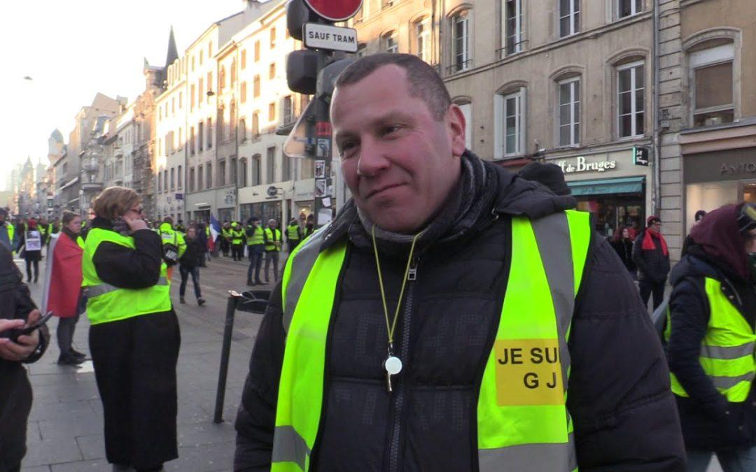 Репортаж за протестите на жълтите жилетки