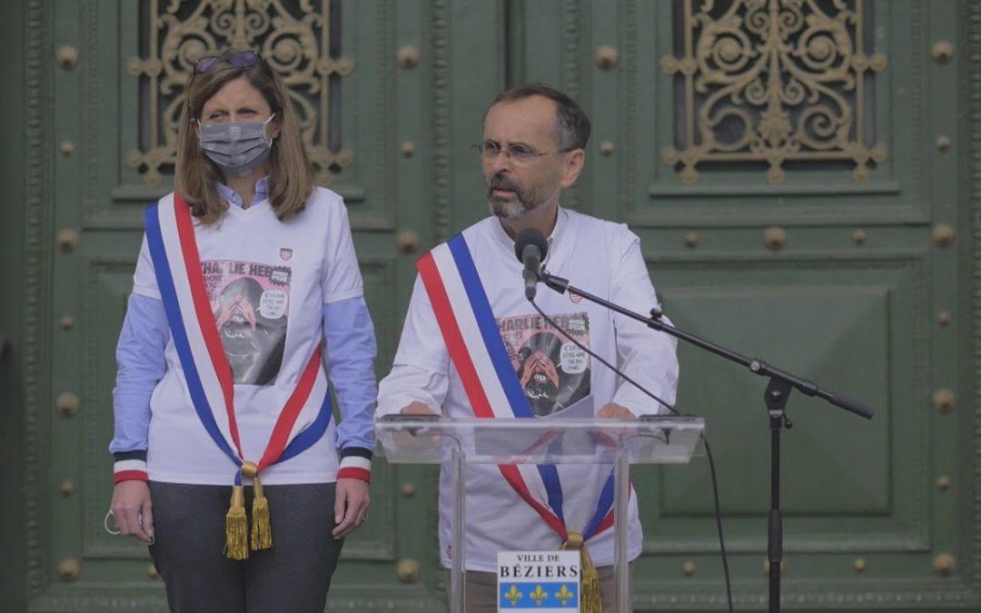 J'accuse ! Robert Ménard, le 19 octobre 2020 à Béziers